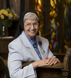 Sister Mary Ann Eultgen (Photo by Jerry Naunheim Jr.)