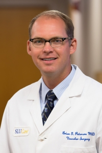 Brian Peterson, M.D., vascular surgeon