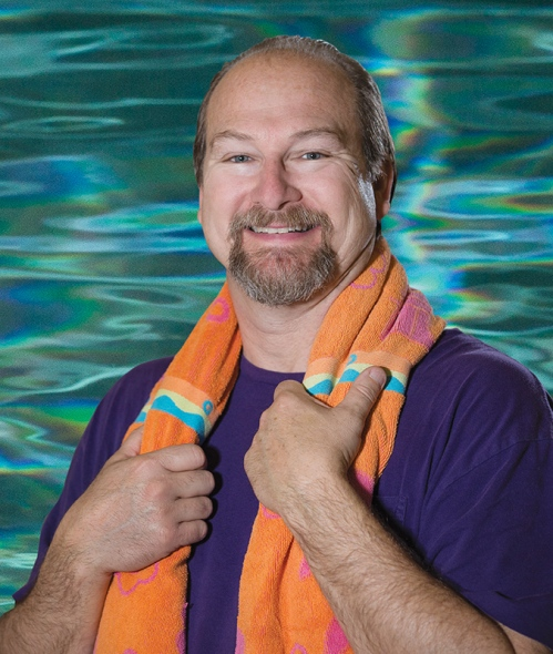 St. Anthony's Emergency Department puts Pete Lombardo back in the swim.